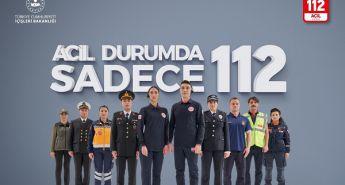 """ÇANKIRI'DA ACİL DURUMLARDA SADECE """"112"""""""