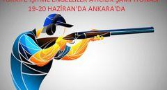 TÜRKİYE İŞİTME ENGELLİLER ATICILIK ŞAMPİYONASI 19-20 HAZİRAN'DA ANKARA'DA