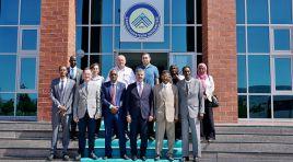 SUDAN'LI HEYET REKTÖR ÇİFTÇİ'Yİ ZİYARET ETTİ