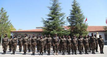 SOMALİ KADIN ÖZEL HAREKAT POLİSLERİ EĞİTİMLERİNİ ÇANKIRI'DA TAMAMLADI